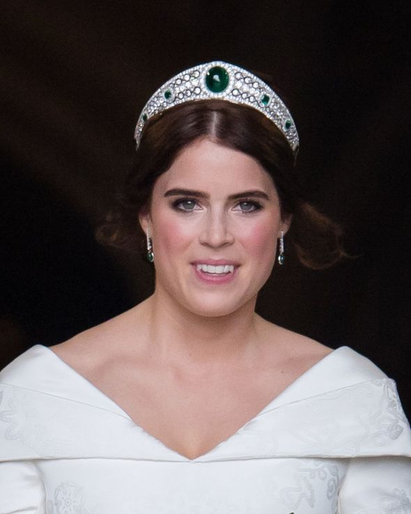 The Greville Emerald Kokoshnik tiara was loaned to Princess Eugenie for her wedding day