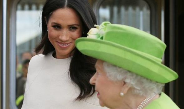 """The Queen has been warned she """"missed an opportunity"""" for Meghan Markle to modernise the Firm(Image: PA)"""