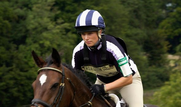 Zara Tindall Mike Tindall Royal Family tradition horse riding news latest vn