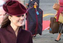 "Duchess of Cambridge: Kate has been known to take as many as ""20 bags on a three day trip"" (Image: Getty Images)"
