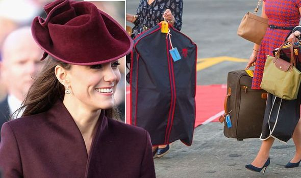 """Duchess of Cambridge: Kate has been known to take as many as """"20 bags on a three day trip""""(Image: Getty Images)"""