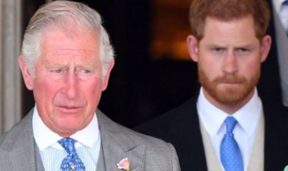 Prince Charles may 'never forgive' Harry as future king still fuming at interview 'damage'(Image: SHUTTERSTOCK)