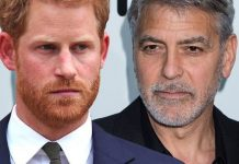 prince harry george clooney