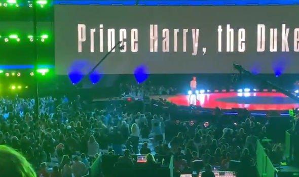 prince harry vax live