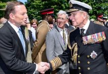 prince philip news tony abbott order of australia
