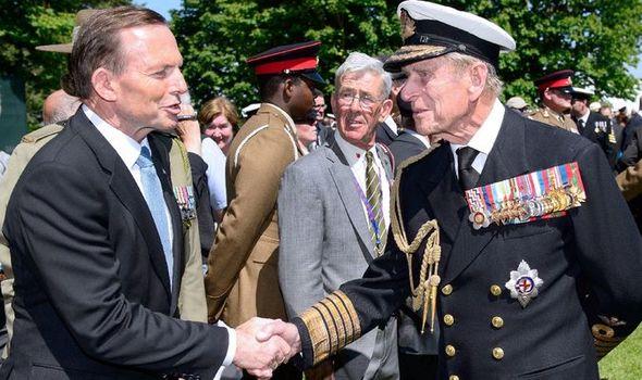 prince philip news tony abbott order of australia
