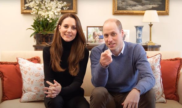 The debut post on YouTube begins with the couple relaxing on a sofa(Image: YOUTUBE)