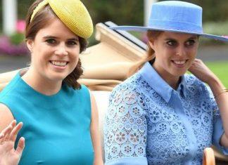 princess eugenie princess beatrice royal wedding