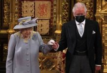 The Queen and Prince Charles at the State Opening of Parliament (Image: GETTY)