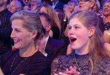 Sophie Wessex in the Strictly crowd with her daughter Lady Louise in 2018(Image: BBC)