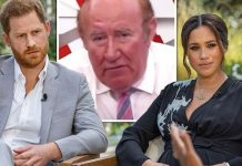 Andrew Neil mocks Meghan Markle and Prince Harry for rejecting Archie's Earl of Dumbarton title(Image: GB News•CBS)