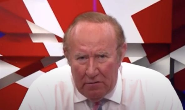Andrew Neil says Meghan and Harry's Archie title snub is 'strange'(Image: GB News)
