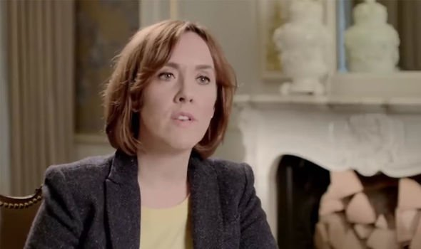 Camilla Tominey: The royal author suggested Harry had misread his brother's concerns(Image: Channel 5 )