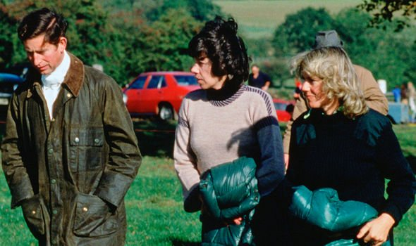 Charles with Camilla in 1979(Image: GETTY)