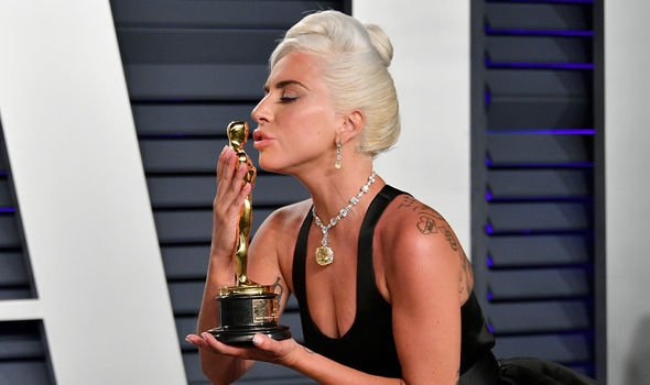Gaga won an Oscar for her performance in A Star Is Born(Image: Getty)