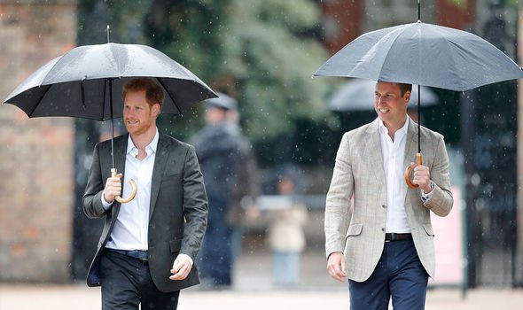 Harry and William were able to access their funds from Diana's estate once they turned 30(Image: Getty)