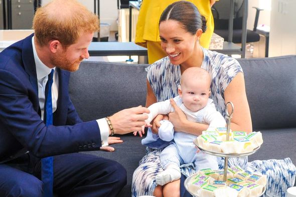 Harry and Meghan said they told the Queen before choosing Lilibet's name(Image: GETTY)