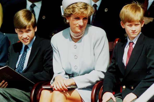 Harry and William are believed to be meeting for their mother's statue unveiling(Image: GETTY)