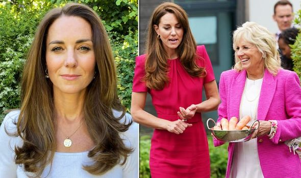 Kate Middleton style: Duchess of Cambridge wears £1,000 gift from Prince William(Image: GETTY/ROYAL FOUNDATION)