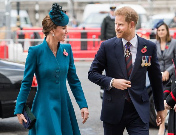 Kate Middleton and Prince Harry(Image: Getty)