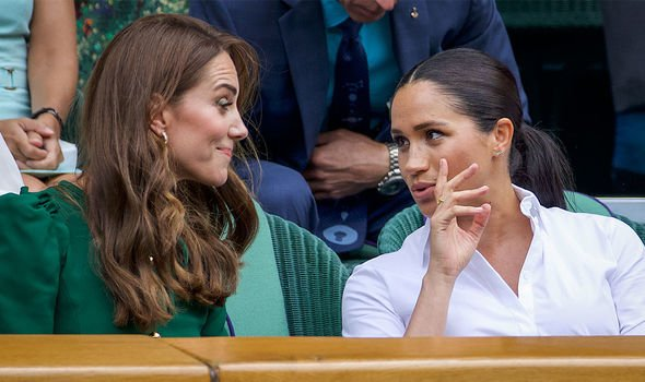 Meghan Markle: It was initially hoped that Meghan and Kate would become close friends(Image: GETTY)