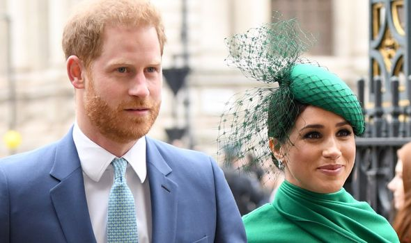 She closed by saying: 'I think Meghan and Harry should have just gone with Diana.(Image: GETTY)