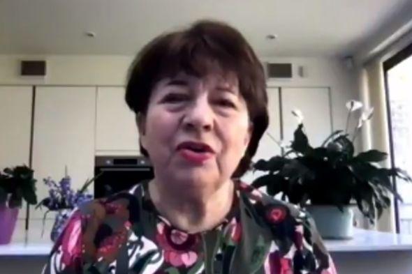 Angela Levin criticised Meghan Markle and Prince Harry(Image: TalkRADIO)
