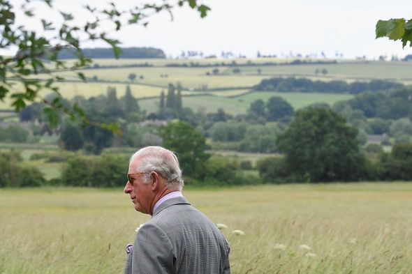 Prince Charles visits Oxfordshire(Image: Getty Images)