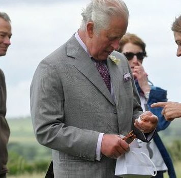 Prince Charles tries to palm off anti-wrinkle cream to Camilla in cheeky gaffe(Image: Getty Images)