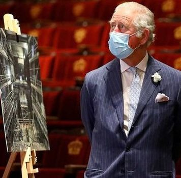 Prince Charles tours Theatre Royal Drury Lane(Image: Getty Images)