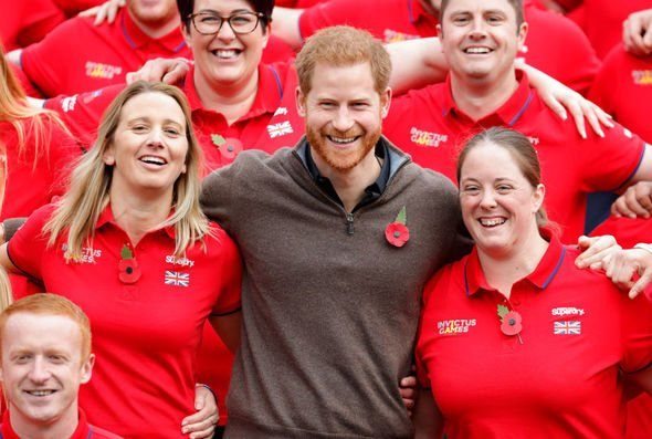 Prince Harry deserves credit for his involvement with the Invictus Games, said Mr Hill(Image: GETTY)