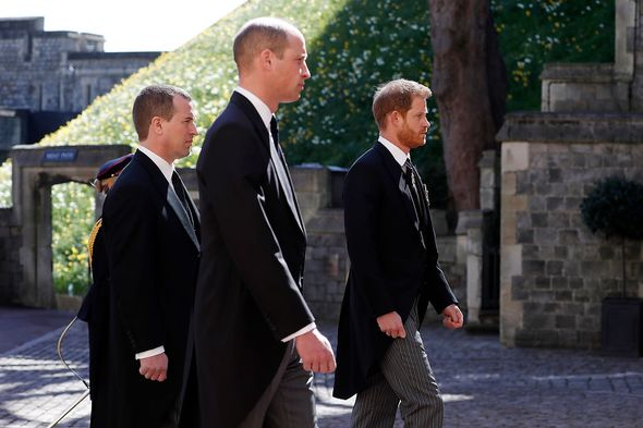 Prince Harry and William have not seen each other since Philip's funeral(Image: Getty Images)