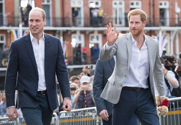 Prince Harry and William will deliver separate speeches(Image: Getty Images)