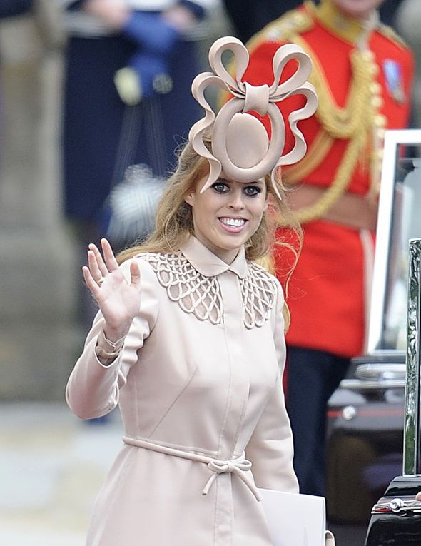 Princess Beatrice 'pretzel' hat comments caused her to cry(Image: Getty Images)