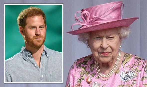 Queen powerless as Prince Harry named daughter Lilibet 'There was nothing she could do'(Image: GETTY)