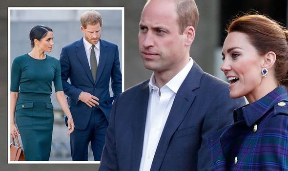 Prince William and Kate's 'idyllic family life' image could be undone by Harry and Meghan(Image: GETTY•PA)