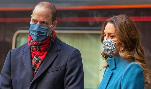 William and Kate visited Scotland in December(Image: GETTY)
