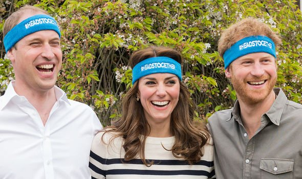 William, Kate and Harry with their Heads Together initiative(Image: Getty)