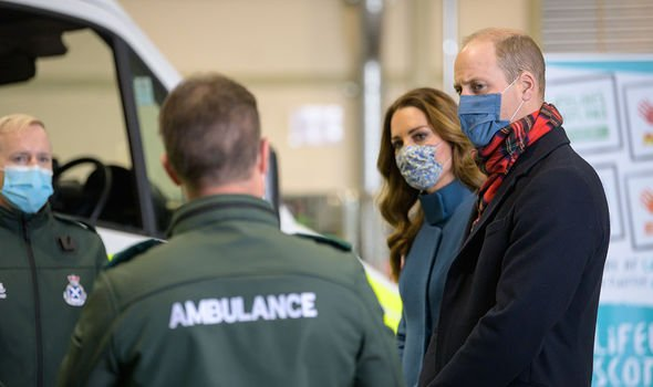The Cambridges visited Scotland as part of their UK tour(Image: GETTY)