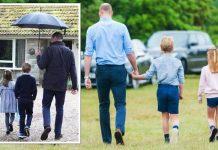 Royal news: The two children showcased a dramatic height change(Image: Ian Burt/GETTY)