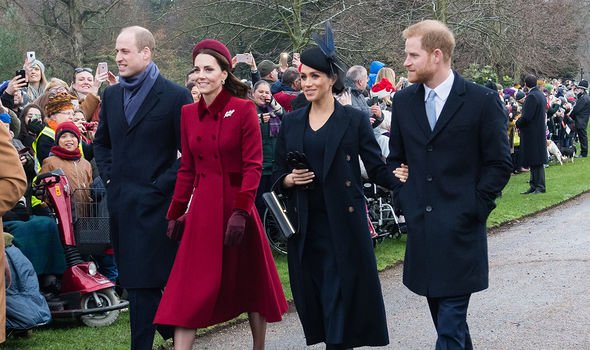 The Sussexes and the Cambridges used to share a social media account(Image: Getty)
