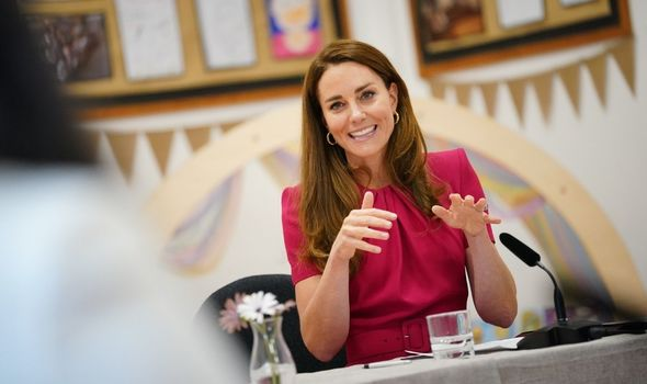 """The expert added that Kate's overall style is """"regal""""(Image: Getty)"""