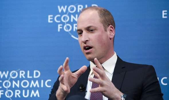 William said in Davos 2019 that it was hard to encourage celebrities to speak up about mental health in 2016(Image: Getty)