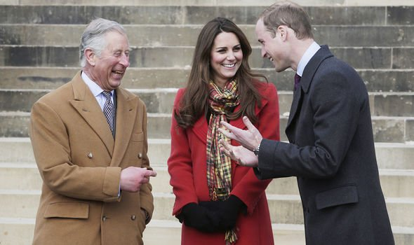 William, Kate and Charles share a strong relationship(Image: GETTY)