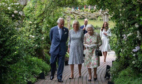 William and Kate joined Charles, Camilla and the Queen at the G7 summit(Image: GETTY)