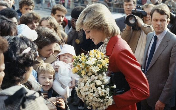 Diana became known as the 'Queen of Hearts' after her tragic death(Image: GETTY images)