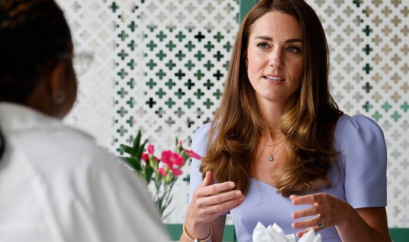 Kate became patron of EACH in 2012(Image: GETTY)