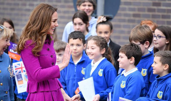 Kate marking the opening of The Nook in 2019(Image: GETTY)