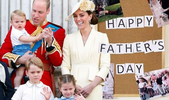 The Cambridges have taken to social media to mark Father's Day(Image: GETTY)