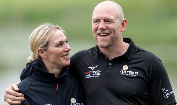 Mike Tindall has opened up on the secret to his and Zara's marriage ahead of their anniversary(Image: GETTY)